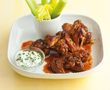 Recept Buffalo wings