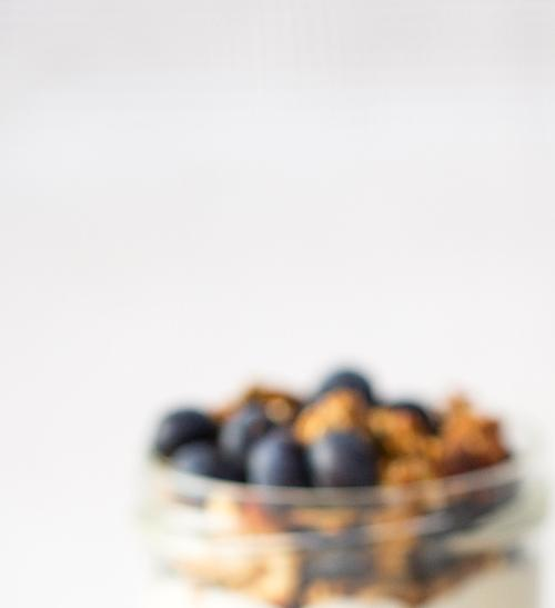 Granola s borůvkami