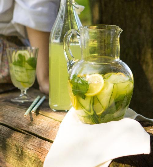 Okurková limonáda s vodkou