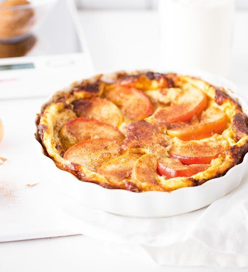 Pečená jablečná omeleta