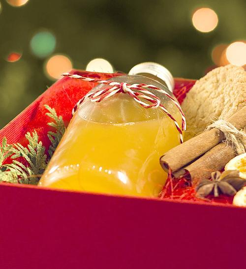 Vánoční mandarinkový punč