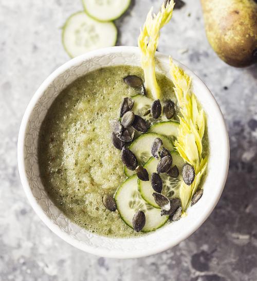 Hruškové smoothie s celerem