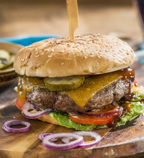 Hovězí burgery
