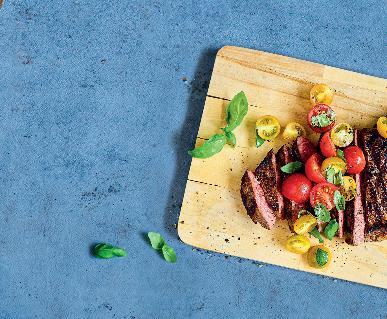 Recept Queensland steak s rajčatovou salsou