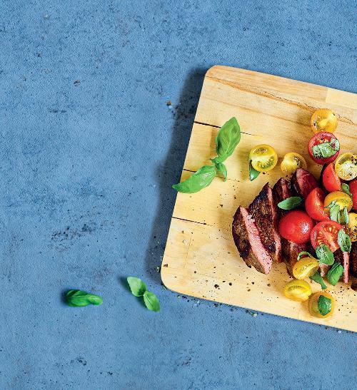 Queensland steak s rajčatovou salsou