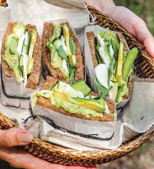 Fit sendvič s avokádem