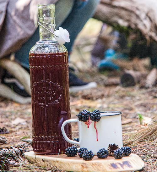 Ostružinový sirup indiánského kmene