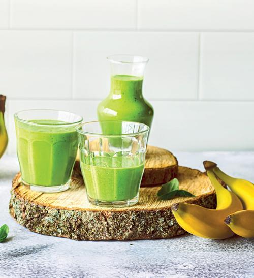 Bio smoothie z banánu a avokáda