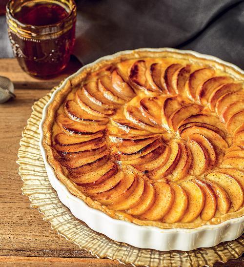 Křehký jablečný koláč