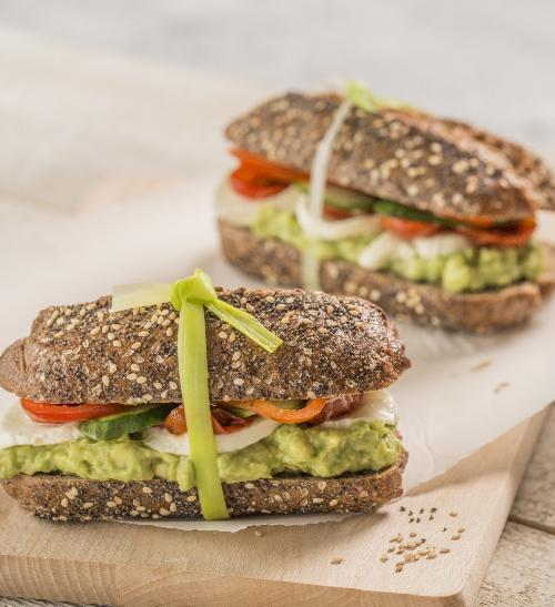 Avokádový sendvič se Zottarellou