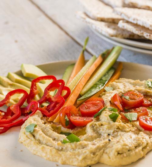 Hummus sbarevnou zeleninou