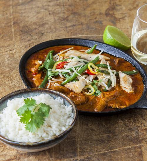 Thajské kuřecí kari