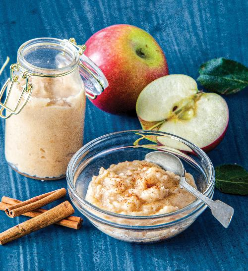 Jablečné pyré s vanilkou