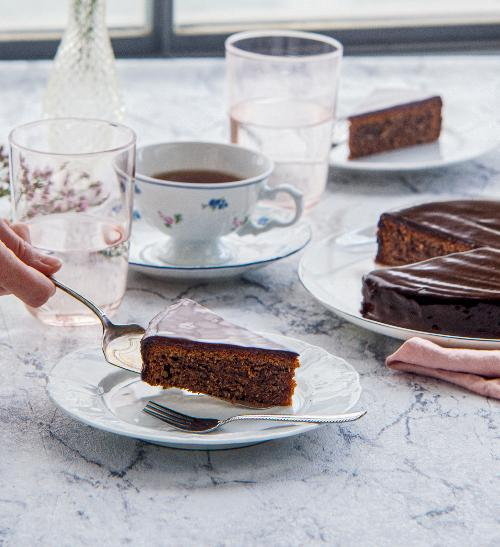 Sacherův dort klasika z Vídně