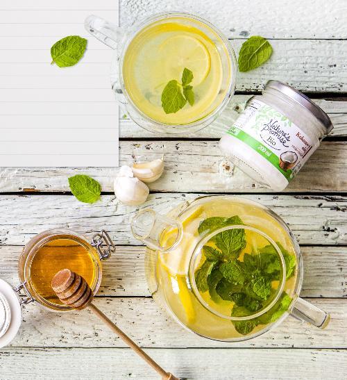 Česnekový čaj proti bacilům