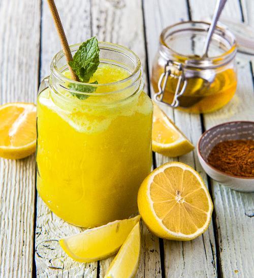 Citronové smoothie proti podzimní únavě