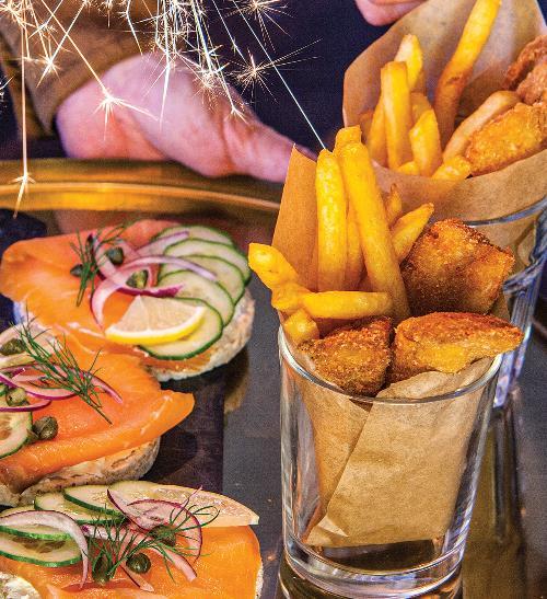 Fish & chips do skleničky