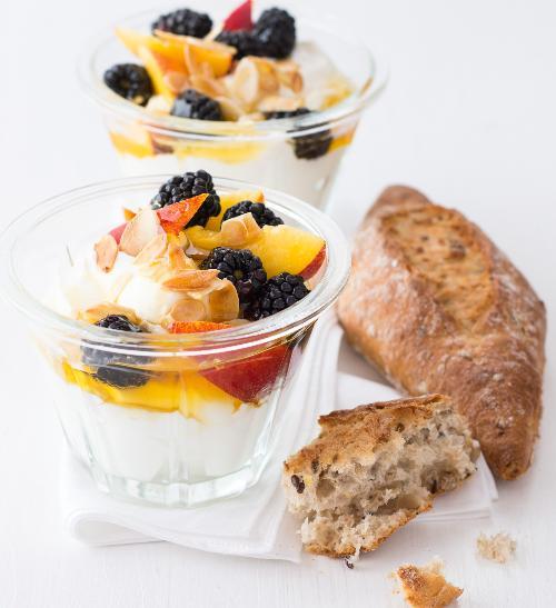 Rychlá řecká snídaně