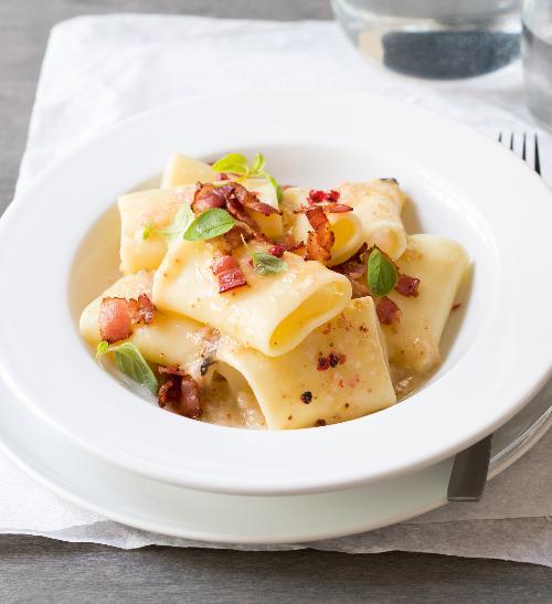 Těstoviny s čerstvými fíky