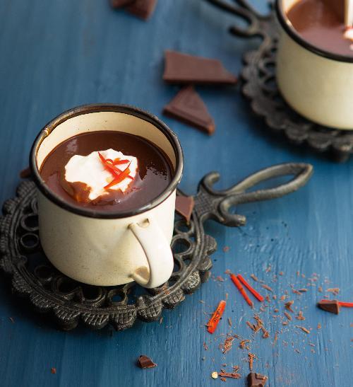 Horká chilli čokoláda