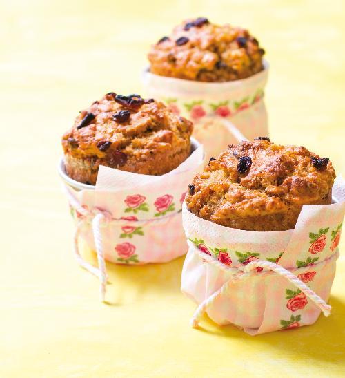 Vláčné muffiny s mrkví