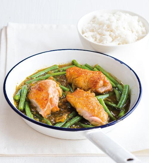 Japonské kuřecí karí