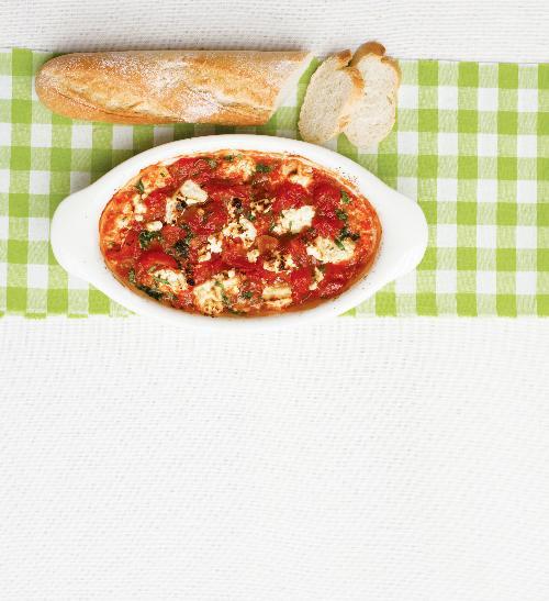 Zapečená rajčatová omáčka