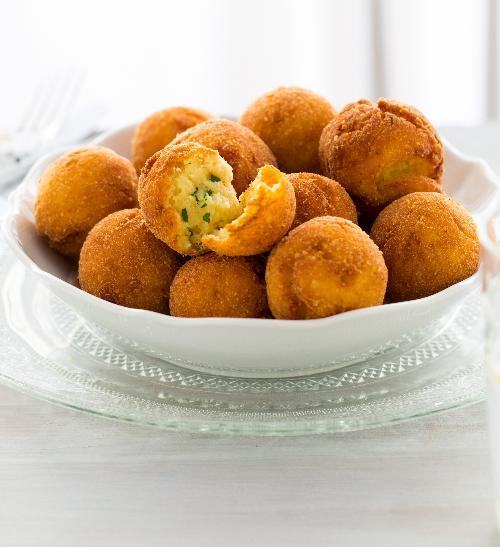 Bramborové krokety se sýrem