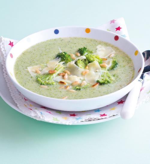 Hustá brokolicová polévka