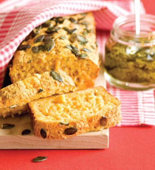 Dýňový chleba s rozmarýnem