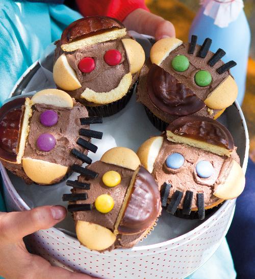 Opičí muffiny pro děti