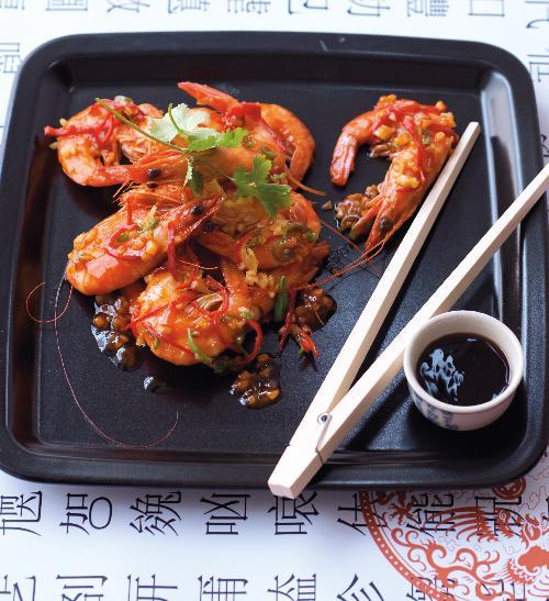 Sladkokyselé krevety