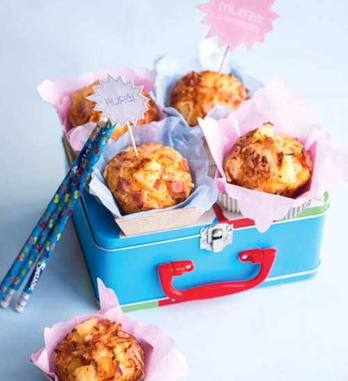 Slané muffiny s ananasem