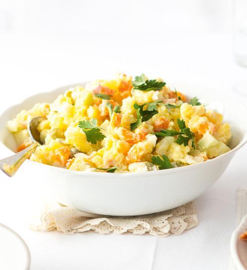 Klasický bramborový salát