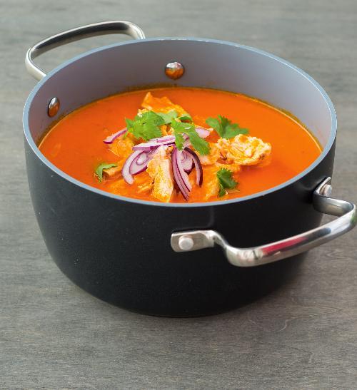 Mexická rajčatová polévka