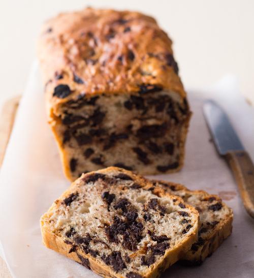 Čokoládový chlebíček od maminky