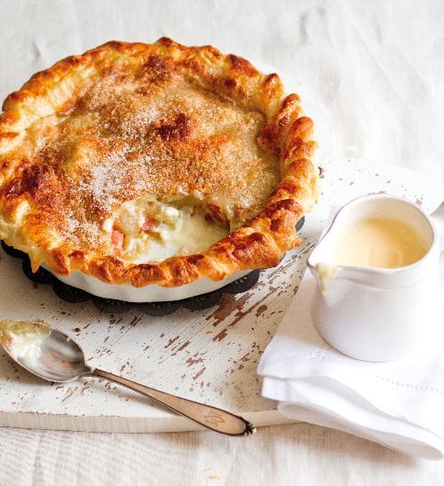 Jablečno–skořicový koláč