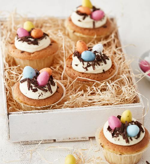 Cupcaky s bílou čokoládou