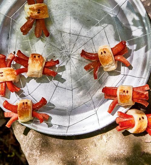 Hot dog pavouk