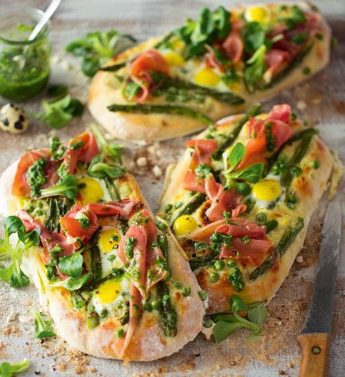 Jarní pizza