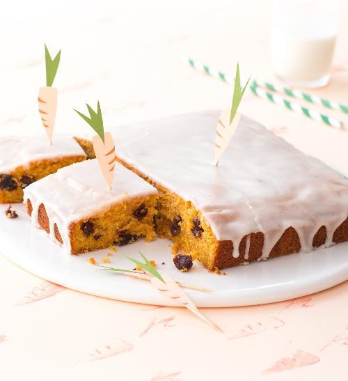 Mrkvový dort s polevou