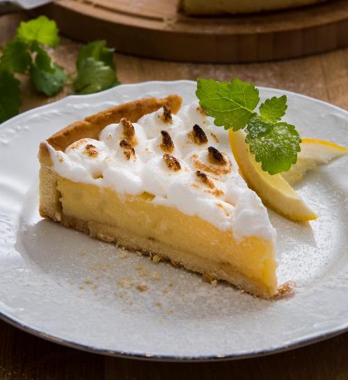 Snadný citronový koláč