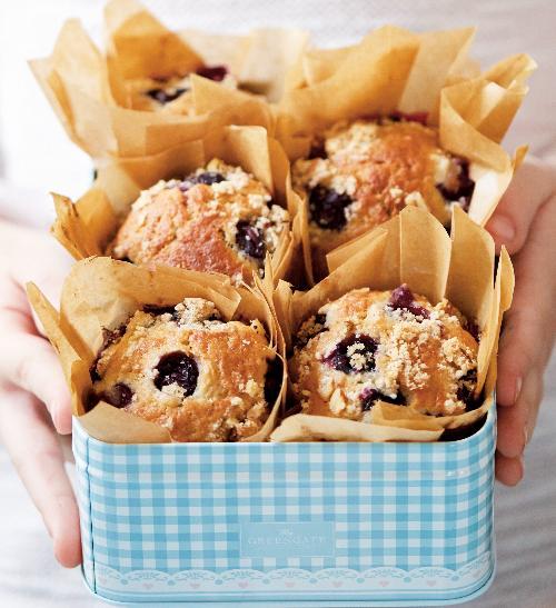 Banánové muffiny sborůvkami