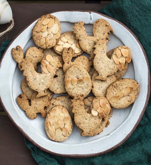 Velikonoční bezlepkové sušenky
