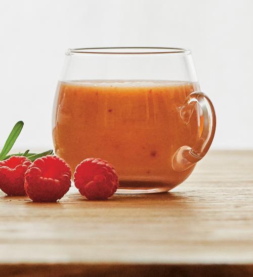 Ovocné smoothie se zeleným čajem