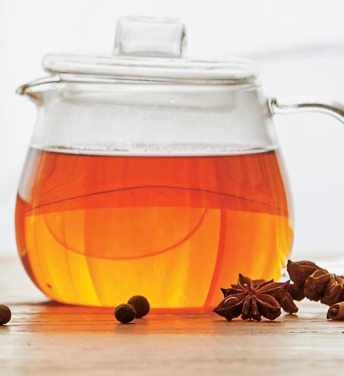 Kořeněný čaj s exotickým ovocem