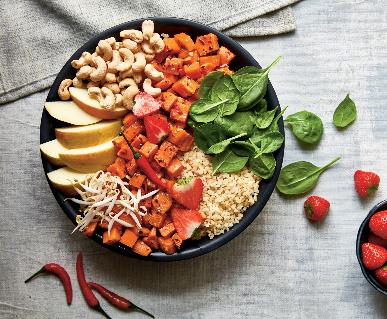 Recept Bulgurový Buddha bowl
