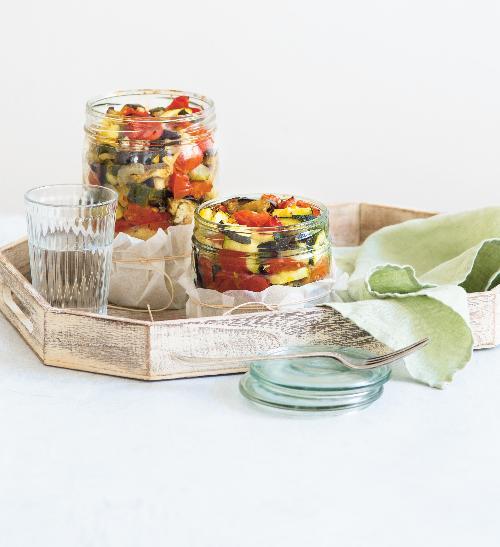 Pečená zelenina a bulgur