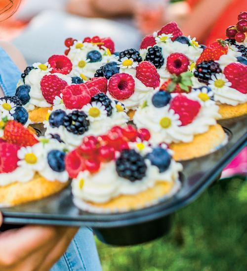 Ovocné cupcakes