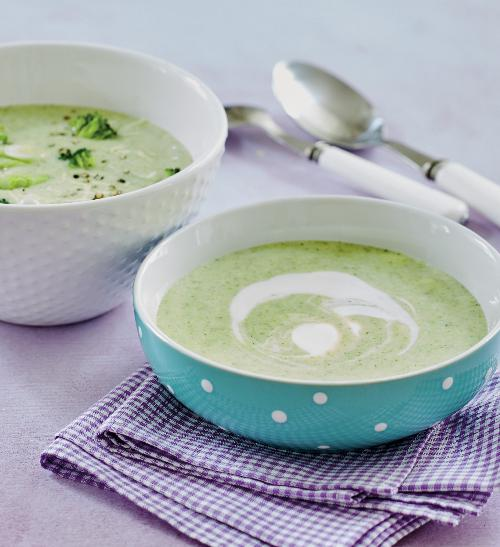 Brokolicová polévka nejen pro kojence